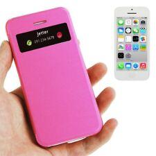 Estuche Protector Funda con tapa de móvil cubierta Ventana para Apple iPhone