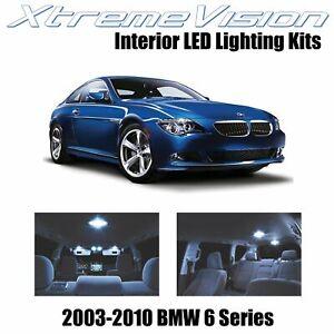 XtremeVision Interior LED for BMW 6 Series E63 E64 03-10 (11 PCS) Cool White