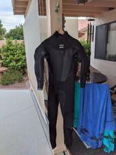 Billabong Absolute X 4/3 Wetsuit, Back Zip, Medium Tall, Never Used