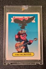 2017 Garbage Pail Kids Battle of Bands 1/1 Blank Back. For The Boyds