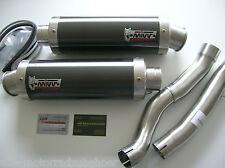Sport Auspuff MIVV GP Steel BLACK Suzuki GSX-R 1000 Bj. 07-08 K7 K8 mit ABE