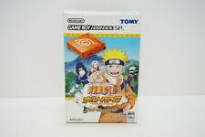 Nintendo Game Boy Advance SP NARUTO Limited Edition AGS Orange Console GBA Japan
