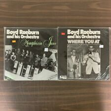 Boyd Raeburn & Orchestra Vinyl Lp Lot- Vg+ Memphis In June Where You At