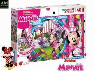 Clementoni Puzzle - Disney Floor Minnie Happy Helpers - 40 Pieces New/Boxed