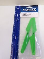 LATRAX - ROTOR BLADE SET, GREEN (2)/ 1.6x5mm BCS (2) - MODEL# 6631 - BAG 2