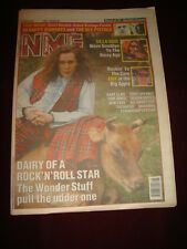 NME 1991 APR 13 WONDER STUFF HAPPY MONDAYS SEX PISTOLS DE LA SOUL EMF MADONNA