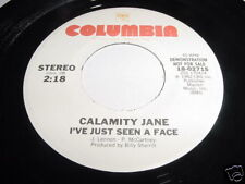 CALAMITY JANE - I'VE JUST SEEN A FACE - 45 COLUMBIA