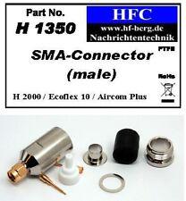 1 Pieza Conector SMA Ecoflex 10 / Aircom Plus / H 2000 Flex - 50 Ω (H1350)