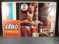 1966 Lego set 205 Building Toy Real Rare Samsonite
