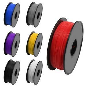 3D Imprimante Filament PLA 1.75mm 1Kg FDM Material Multicolore
