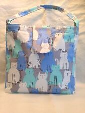 CATS FABRIC BAG FREE UK POSTAGE