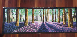 Original Art Painting Canvas Huge Woods Trees Forest Landscape Australia 240cm