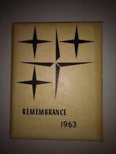 1963 Newport High School Yearbook Senior Remembrance 1 - 12 North Vermillion IN
