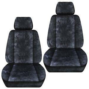 Front set car seat covers fits 2006-2020 Honda Ridgeline    kryptec charcoal