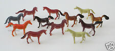 12 Mini Plastic Horse Figure Kid Farm Western Party Goody Loot Bag Favor Supply