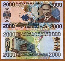 Sierra Leone / Africa, 2000 Leones, 2003, P-26 (26b), UNC