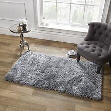 Tapis shaggys/flokati gris pour la chambre