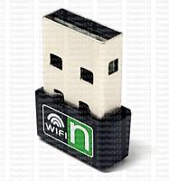 Realtek 300Mbps Mini Nano USB Wireless 802.11N LAN Card WiFi Network Adapter