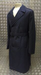 Genuine British Royal Air Force Issued Double Breasted All Ranks Rain Coat