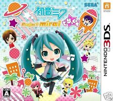 Used Hatsune Miku Project mirai Deluxe NINTENDO 3DS JAPANESE  IMPORT