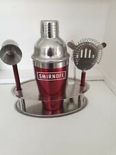 Smirnoff Cocktail Shaker And Accessories Man Cave
