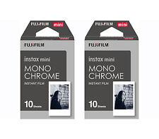 Pellicola Istantanea FujiFilm Instax Mini MONOCHROME Cp.Polaroid/Diana 20 foto