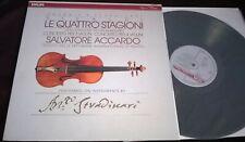 Rare Audiophile Vinyl LP Accardo Vivaldi The Four Seasons LP Philips 422 065-1