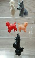 Vintage Poodle CX England Scottie Dog and others Charms & Figures