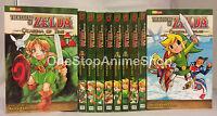 The Legend of Zelda Set (Vol. 1 - 10) English Manga Graphic Novels Set NEW
