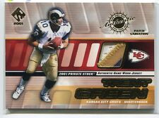2001 Private Stock Game Worn Gear Patch 79 Trent Green Patch 330/375