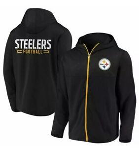 Pittsburg Steelers Full Zip Hoodie Sweatshirt Jacket Men's Size Small NWT