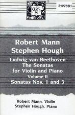 Robert Mann & Stephen Hough - Beethoven Sonatas (Volume II) MHS Cassette