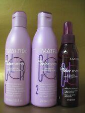 MATRIX COLOR SMART Shampoo & Conditioner & Shine Spray SET Pack of 3