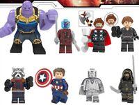 Marvel Avengers Endgame Thanos Captain America Thor Figure Building Blocks DC