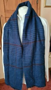 Ted Baker blue mix acrylic scarf good condition
