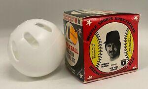 Vintage 1970's Thurman Munson Endorsed Wiffle Ball w/ Original Box Yankees
