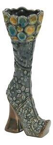 Boot Shaped Ornament - Ceramic Decorative Vase Table Decor Mantlepiece Display