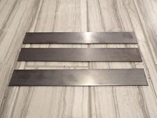 "USA steel lot of 3- 3/32""x1.5""x12"" 1095 high carbon steel flat bar knife billets"