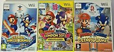Wii Games - Mario & Sonic Olympic series Winter / London 2012  **Multi Listing**