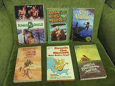 Lot of 6 Vintage Paperback Children's Books