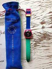 Orologio Swatch CRYSTAL SURPRISE 1994 GZ129 Collector Club Special