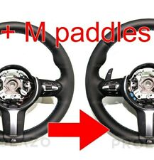 BMW LCI M sport steering wheel PADDLES retrofit KIT for F10 F30 F15 F25