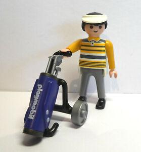 Playmobil Golfspieler / Mann mit Golfwagen (#10)