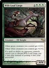WILT-LEAF LIEGE Shadowmoor MTG White/Green Creature — Elf Knight RARE
