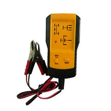 12V Electronic Automotive Relay Tester For Car Auto Battery Checker AE100 Yellow
