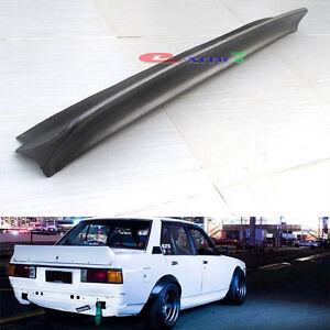 JDM Corolla KE70 Rocket Bunny Rear Tail Spoiler Wings DX GL KE72 Sedan New