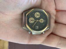 Heuer Titanium Fittipaldi Chronograph Rare Vintage Formula One F1 Quartz Chrono