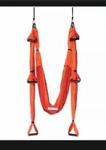 Yogabody Yoga Trapeze Pro - Yoga Inversion Swing Orange