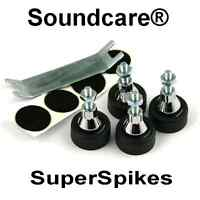 1 Set M8  SoundCare SuperSpikes Speaker / Loudspeaker  Spikes.NEW