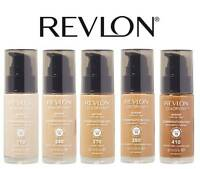 REVLON COLORSTAY MAKEUP FOUNDATION COMBINATION / OILY `PUMP` TOAST TOFFEE ALMOND